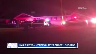Caldwell man in critical condition after officer-involved shooting