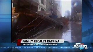 Family recalls surviving Hurricane Katrina, settles in Tucson