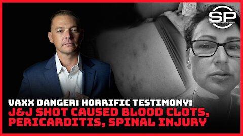 Jab Mandate Victim Speaks Out: HORRIFIC Injuries EVERYONE Should See