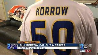 Bill Korrow calls it a career