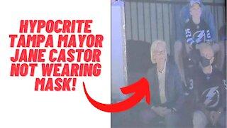 Hypocrite Tampa Mayor Threatens Super Bowl Fans Not Wearing Masks!