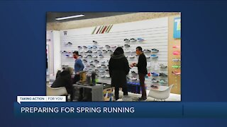 Preparing for spring running with Gazelle Sports