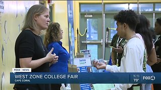 West Zone College Fair at Island Coast High School
