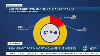 New grant for minority-owned businesses