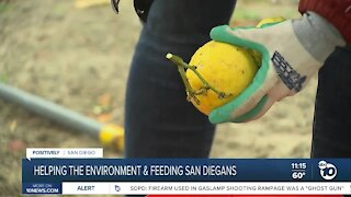 Helping the environment and feeding San Diegans in need