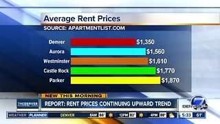 Report: Rent prices continuing upward trend