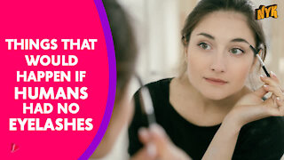 What If Humans Didn't Have Eyelashes