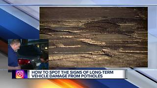 Best ways to find long-term damage on cars from potholes