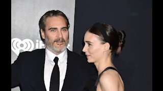 Joaquin Phoenix and Rooney Mara 'welcome' a son