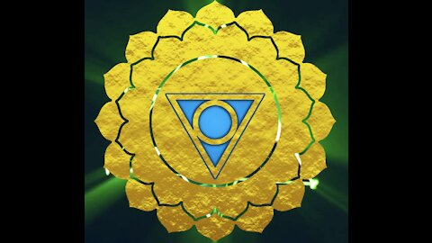 7 Chakras in Gold Texture