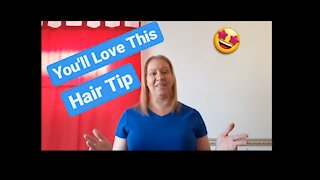 How to freshen your hair between washing