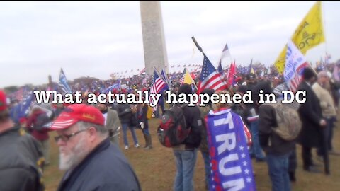 What Actually Happened in DC