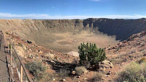 Meteor Crater near Winslow Arizona
