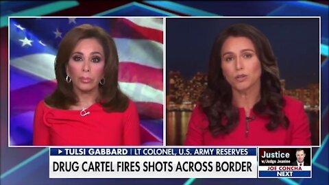 Tulsi Gabbard: Biden's Open Border Is A Serious Security Threat