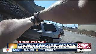 TPD releases video of fatal officer involved shooting