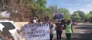 March through Mayor Carolyn Goodman's neighborhood