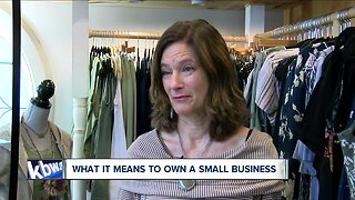Small business owners face the struggle of competing with online shopping