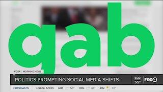 Social media shift among Trump supporters