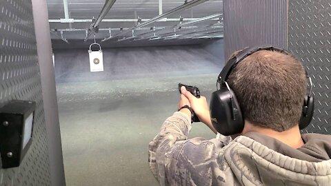 BLAKE SHOOTS BERETTA 96A1