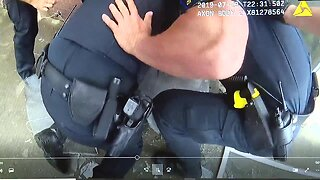 Bodycam footage of Westland home fire rescue