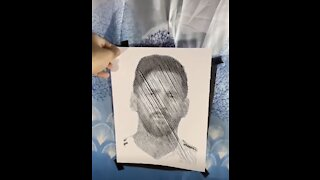 Incredible Celebrity Portraits Using Just Scissors And Paper!