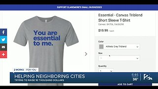 """""""Together"""" T-Shirt Project in Three Oklahoma Cities Raising Money for Small Businesses"""