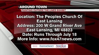 Around Town 5/6/19: Painting Outside the Lines Exhibit