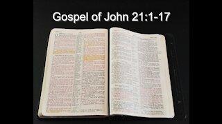 Gospel of John 21:1-17