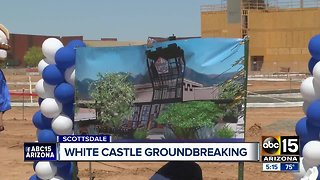 White Castle breaks ground in the Valley
