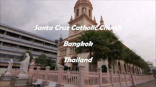 Santa Cruz Catholic Church in Bangkok, Thailand