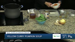 Shape Your Future Healthy Kitchen: Yellow Curry Pumpkin Soup