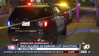 Man shot multiple times in National City parking lot