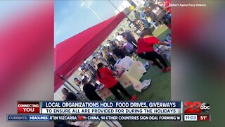 Bakersfield organizations hold food drives and giveaways over the weekend
