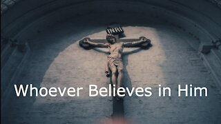 Whoever Believes in Him - John 3:14-21 for March 14, 2021 the 4th Sunday in Lent