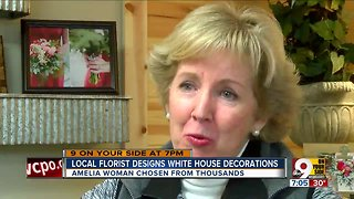 Local florist helps decorate White House for Christmas