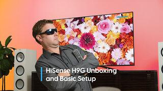 Hisense H9G Quantum Series 4K HDR TV Unboxing, Settings, Impressions