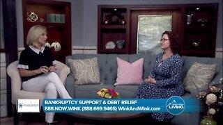 Bankruptcy Support & Debt Relief // Wink & Wink