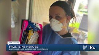 Long-term care nurses battle high-stress conditions inside COVID units