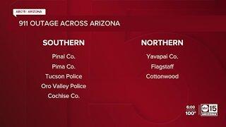911 outage across Arizona
