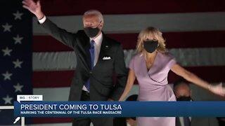 President Biden visiting Tulsa for Race Massacre centennial