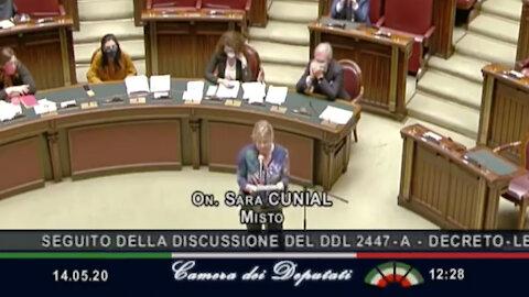 Deep state, Agenda 21, Bill Gates, Chamber of Deputies May 14, 2020 Italy (English subtitles)