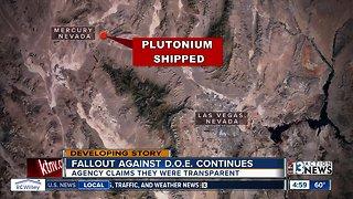 Nevada officials, experts continue reaction to secret plutonium shipment