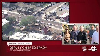 Arvada deputy police chief says 1 officer, 'Samaritan,' and suspect killed in shooting