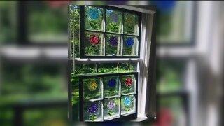 Wildflower Window Art