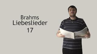 Brahms Liebeslieder - Nicht wandle, mein Licht
