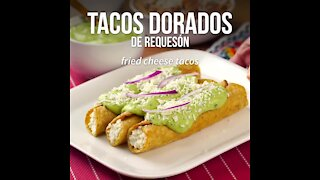 Easy Golden Cottage Cheese Tacos