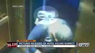 Police release video of hotel killing suspect