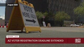 Arizona voter registration deadline extended until October 23