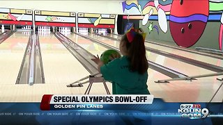 Special Olympics athletes participate in bowling competition