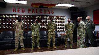 USTRANSCOM commander visits McConnell